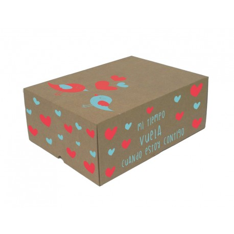 Caja Troquelada - 30 X 22 X 12 cm