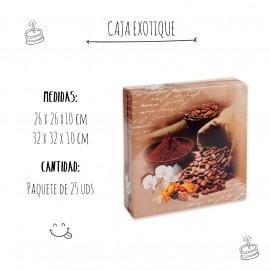 Caja Pastelería Exotique