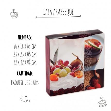 Caja Pastelería Arabesque