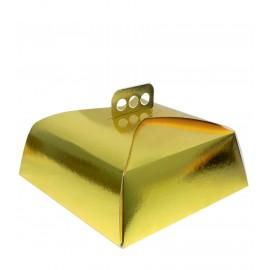 Caja para Tartas Oro
