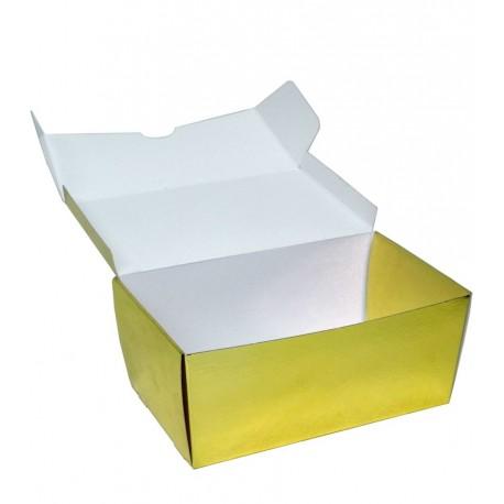 Cajas Trapezoide Oro