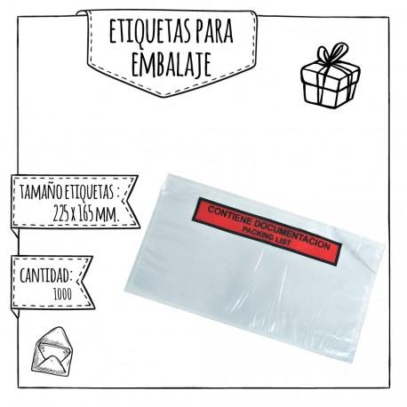ETIQUETAS PARA EMBALAJE – 162 X 120