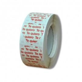 """ETIQUETA """"TE QUIERO"""" – 30 X 30 MM"""
