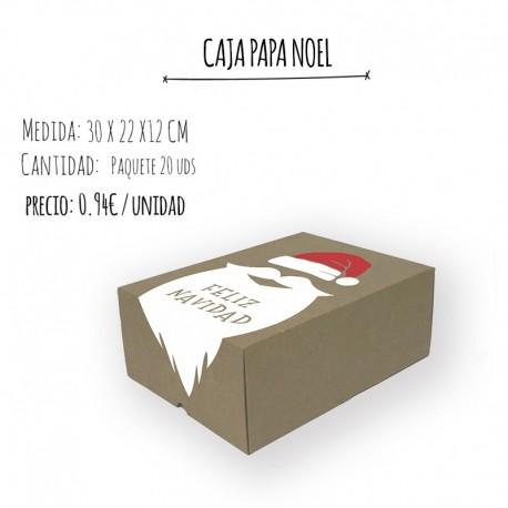CAJA TROQUELADA FANTASÍA - NAVIDAD- 30 X 22 X 12 cm