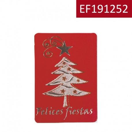 "Etiqueta ""Felices Fiestas"""