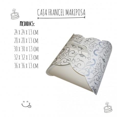 Caja tarta Francel Mariposa