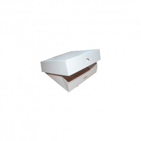 Caja Pastelería Blanca
