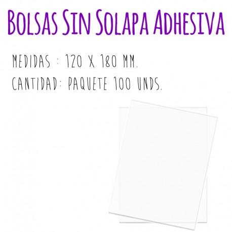 SOBRES TRANSPARENTES (Sin Solapa Adhesiva)